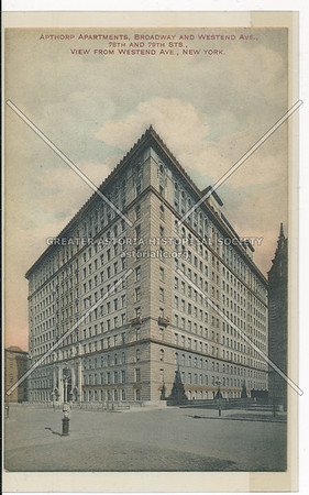 Apthorp Apartments, Broadway and 78th Street, NY
