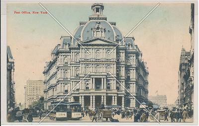 Post Office at City Hall, New York