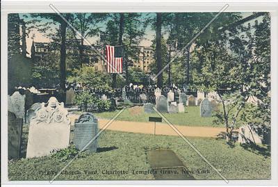 Trinity Church Yard, Charlotte Temple Grave, New York
