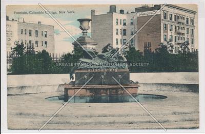 Fountain, Columbia College, New York