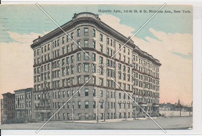 Majestic Apts., 145th St. & St. Nicholas Ave., New York