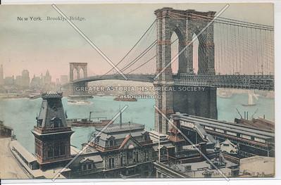 New York. Brooklyn Bridge