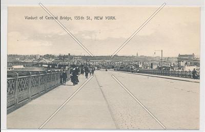 155th Street Viaduct, New York (B&W)