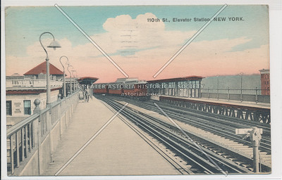 110th St. Elevated Station, New York