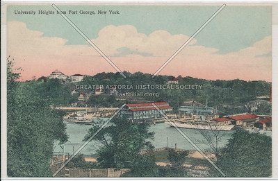 University Heights from Fort George, NY