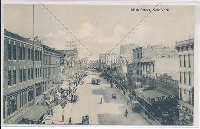 125th Street, New York (B&W)