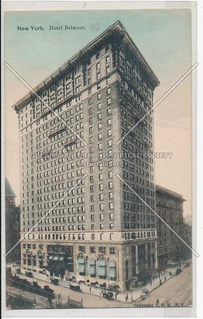 New York, Hotel Belmont