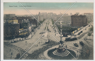 New York. Columbus Circle