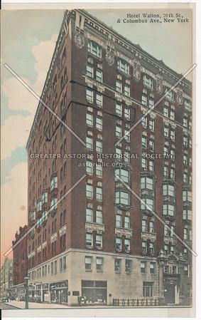Hotel Walton, Columbus Avenue and 76th St