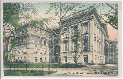 New York, Court House, New York City