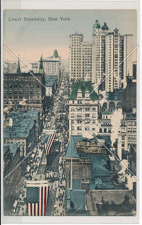 Lower Broadway, New York