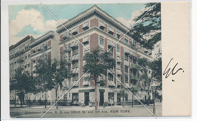 Apartment Houses, N.E. cor 126th and 5th Ave., New York