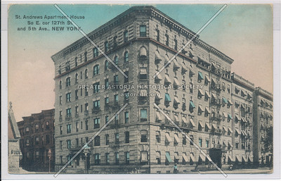 St. Andrews Apartment House So E. cor 127th St. and 5th Ave., New York