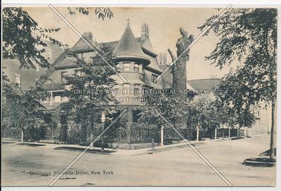 Residence Riverside Drive, New York (black & white)