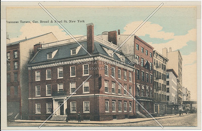 Fraunces Tavern, Cor. Broad & Pearl St. New York