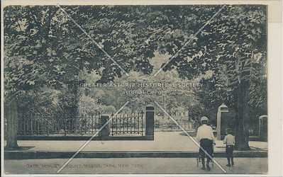 124th St. Gate, Mount Morris Park, New York