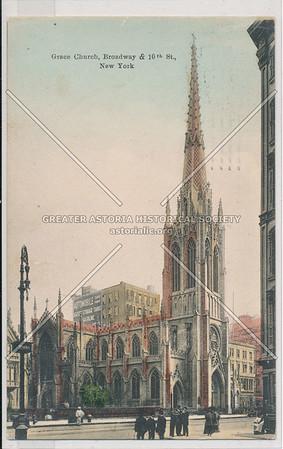 Grace Church, Broadway & 10th St, New York
