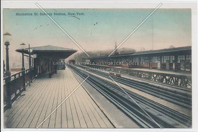 Manhattan St. (125 St) Subway Station, New York