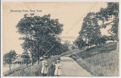 Riverside Park, New York (black and white)