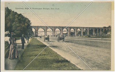Harlem River Speedway, High Bridge, New York