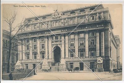 New Custom House, New York (black & white)