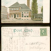 HAVERHILL Mass POST OFFICE 1915 trolley scene<br /> 292879050_vyK3f