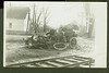 Car Wreck -RR accident covered bridge NH CYKO rppc<br /> 363390191_9gkgp