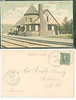 B&M Station New Boston NH 1906 undivided back<br /> 373410406_hsmbC