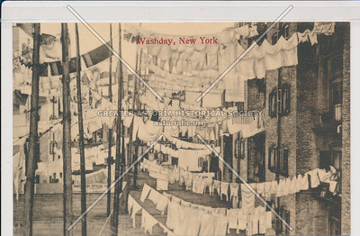 Washday, NYC