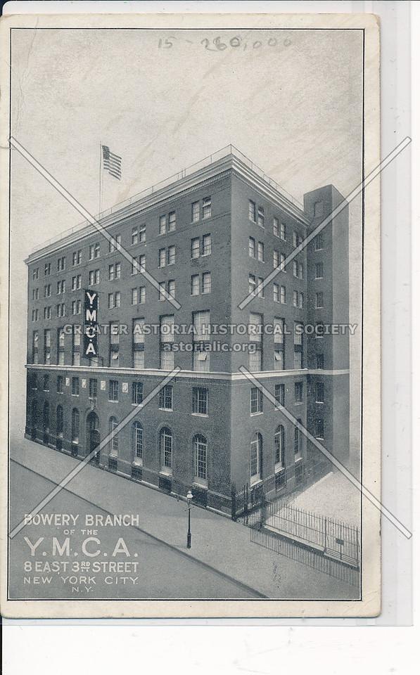 Bowery Branch YMCA, 8 E 3 St, NYC