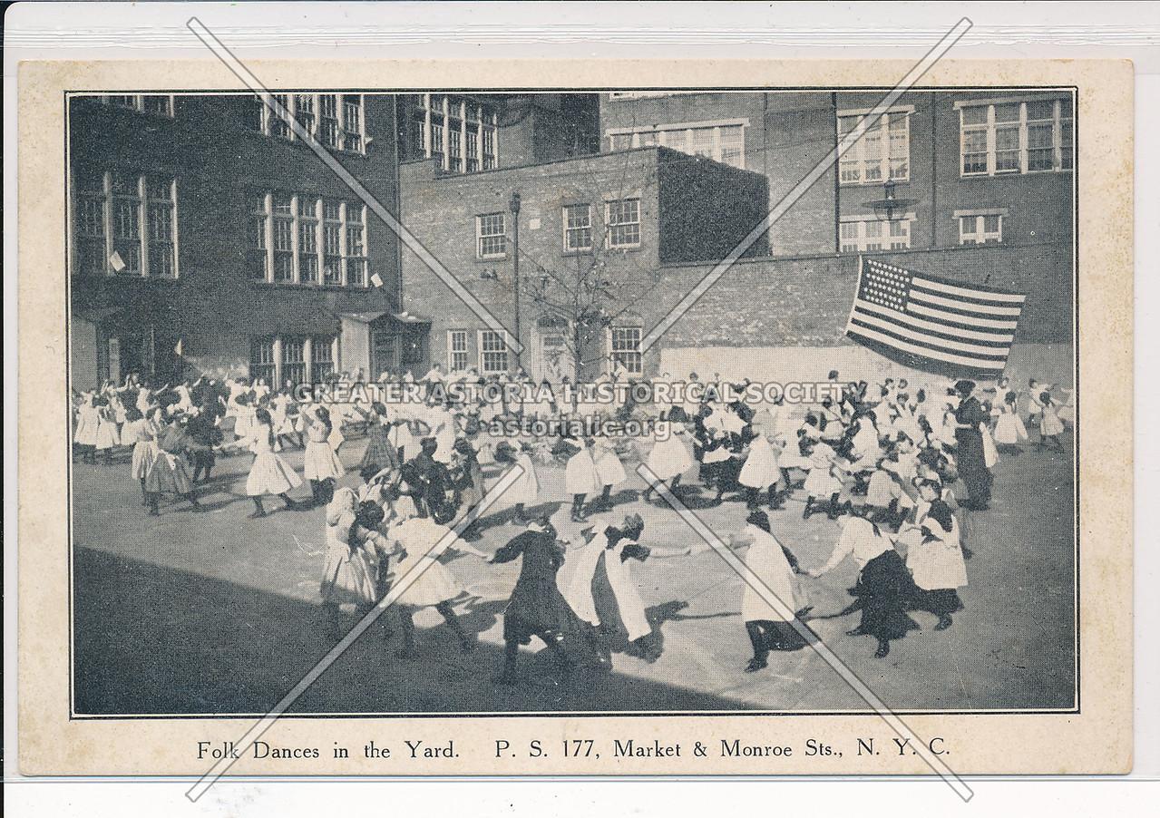 Folk Dances, PS 177, Market & Monroe Sts, NYC