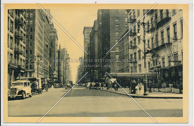 5th Ave & 8 St looking N