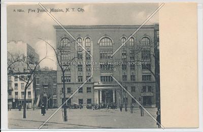 Five Points Mission, 63 Park St?, NYC
