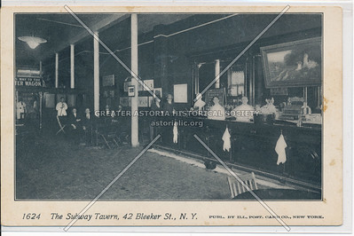 Subway Tavern, 42 Bleecker St, NYC