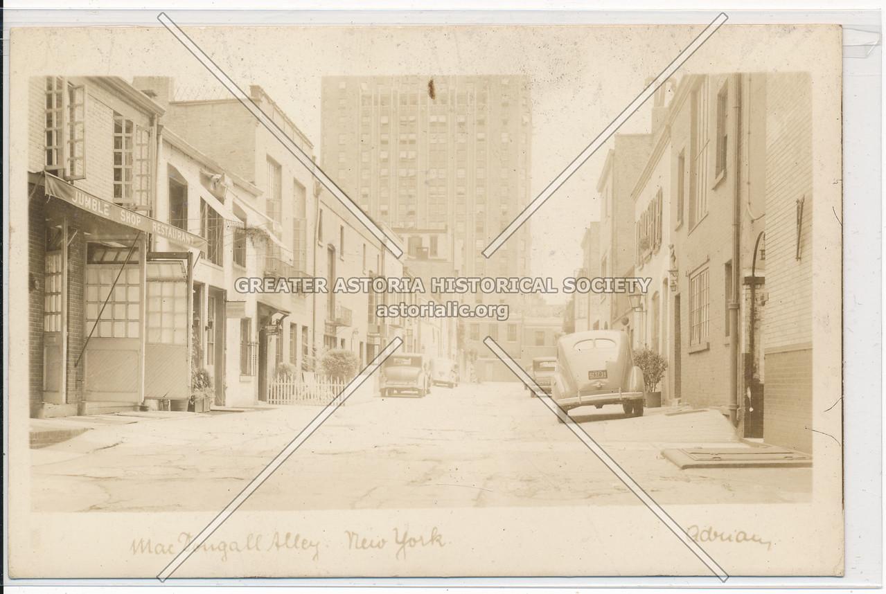 McDougal Alley, Greenwich Village