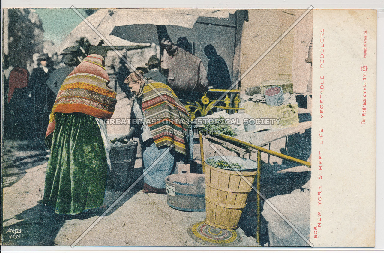 Vegetable Peddler, NYC