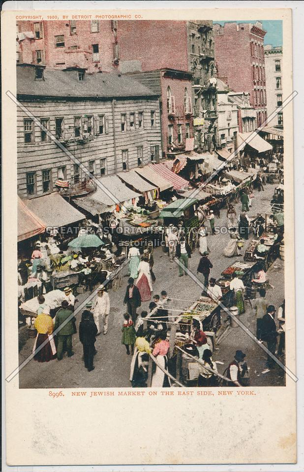 Jewish Market, Lower East Side, NYC
