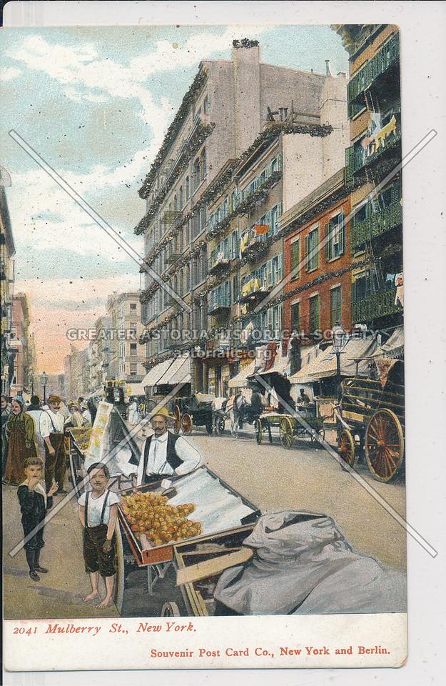 Mulberry Street, NYC