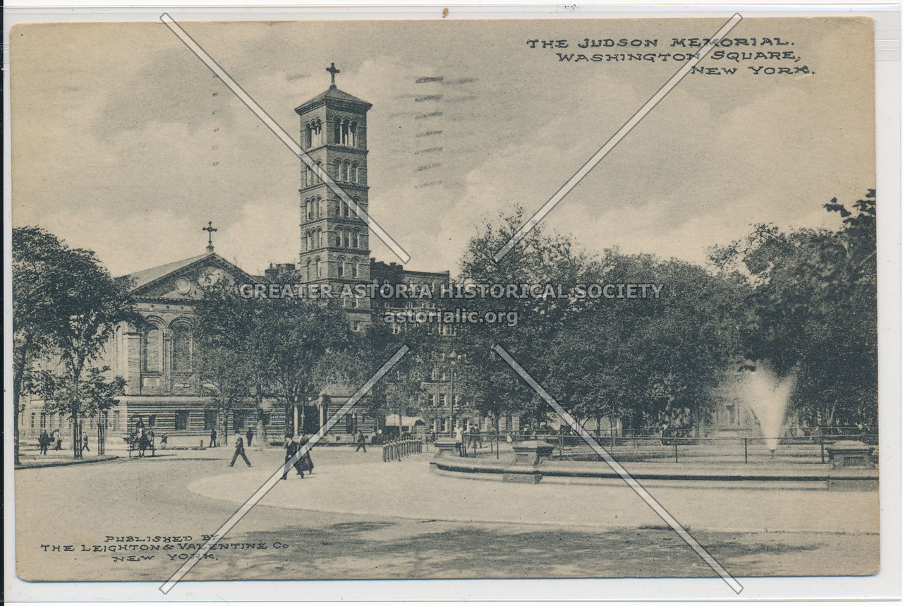 Judson Church, Washington Sq S, NYC
