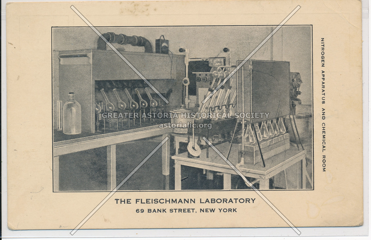 Fleichmanns Laboratory, 69 Bank St, NYC
