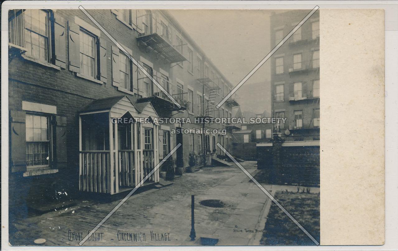 Grove Court, Greenwich Village - Jessie Tarbox Beals