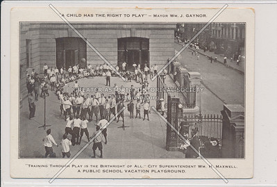 A Public School Vacation Playground