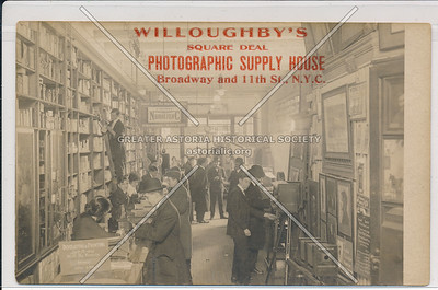 Willoughby Photo Supply, B'way & 11 St, NYC
