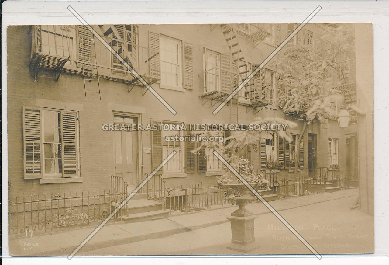 Milligan Place, Greenwich Village - Jessie Tarbox Beals