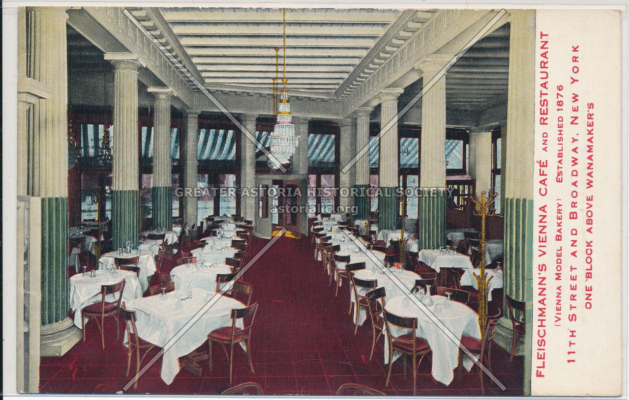 Fleischmanns' Vienna Cafe, 11 St & B'way, NYC