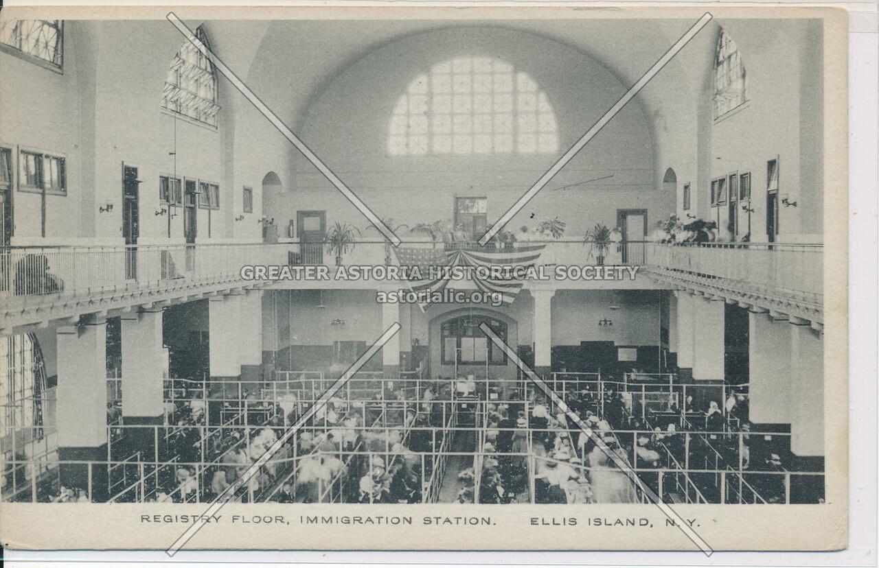 Registration Floor, Ellis Island