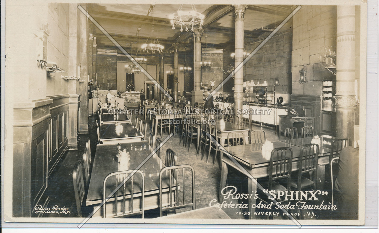 Rossie Sphinx Cafeteria, 30 Waverly Pl, NY