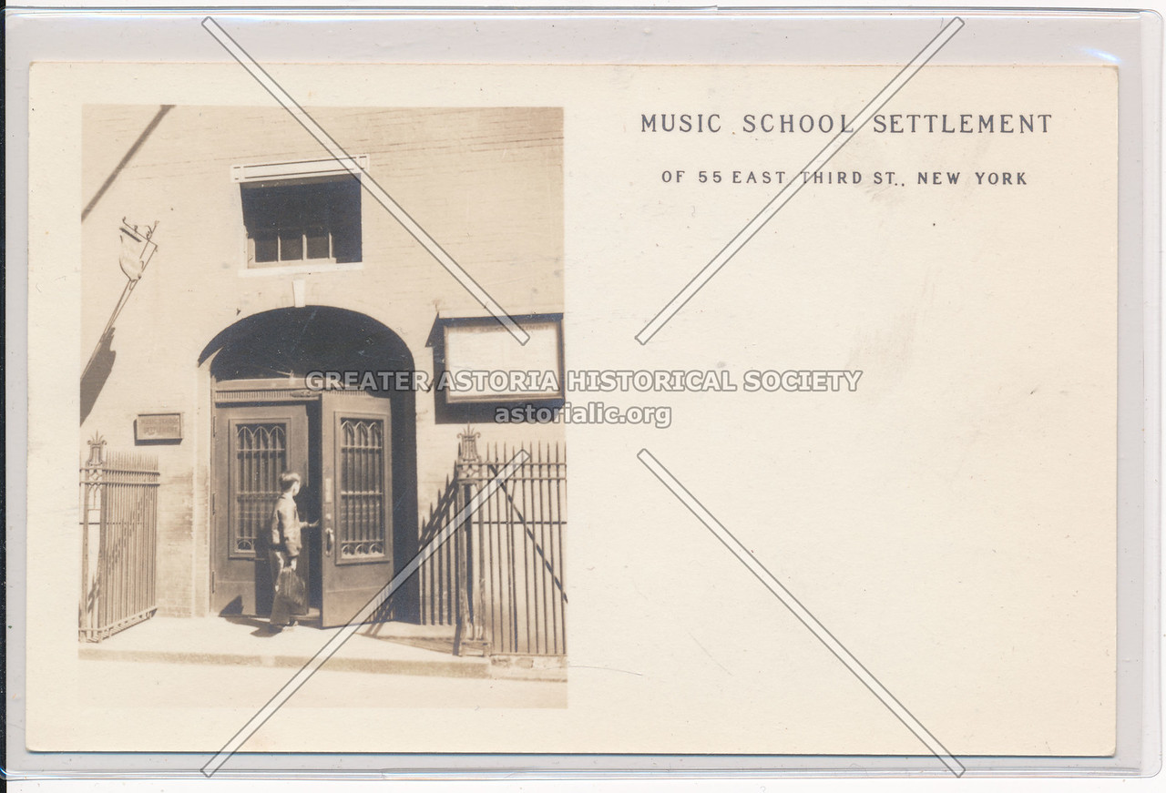 Music School Settlement, 55 E 3 St, NYC