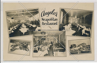 Angelo Restaurant, 146 Mulberry St, NYC