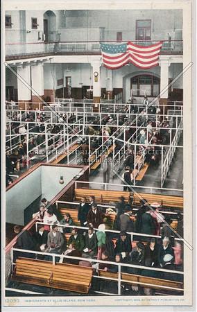 New Immigrants at Ellis Island